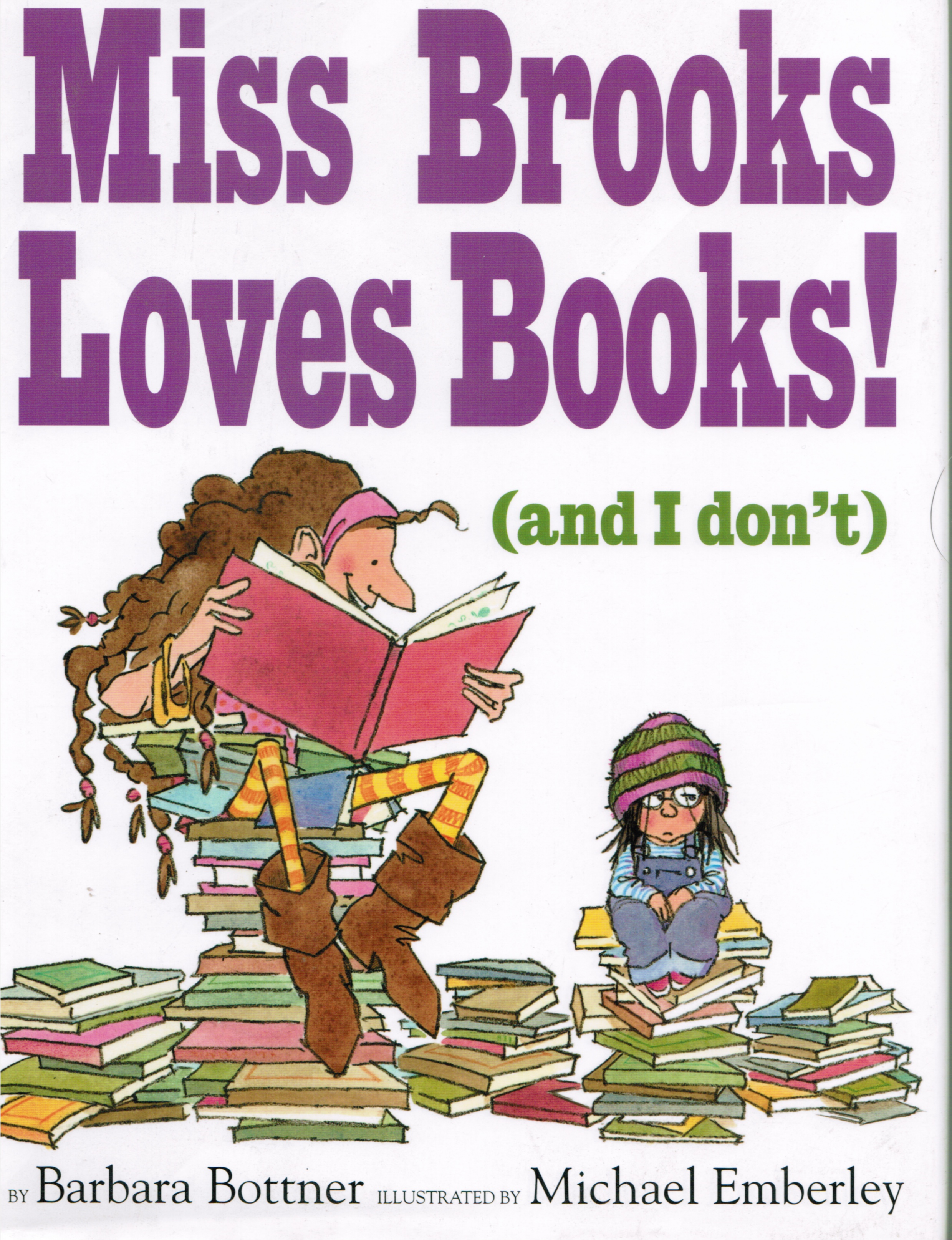 Image for Miss Brooks Loves Books! (And I Don't)
