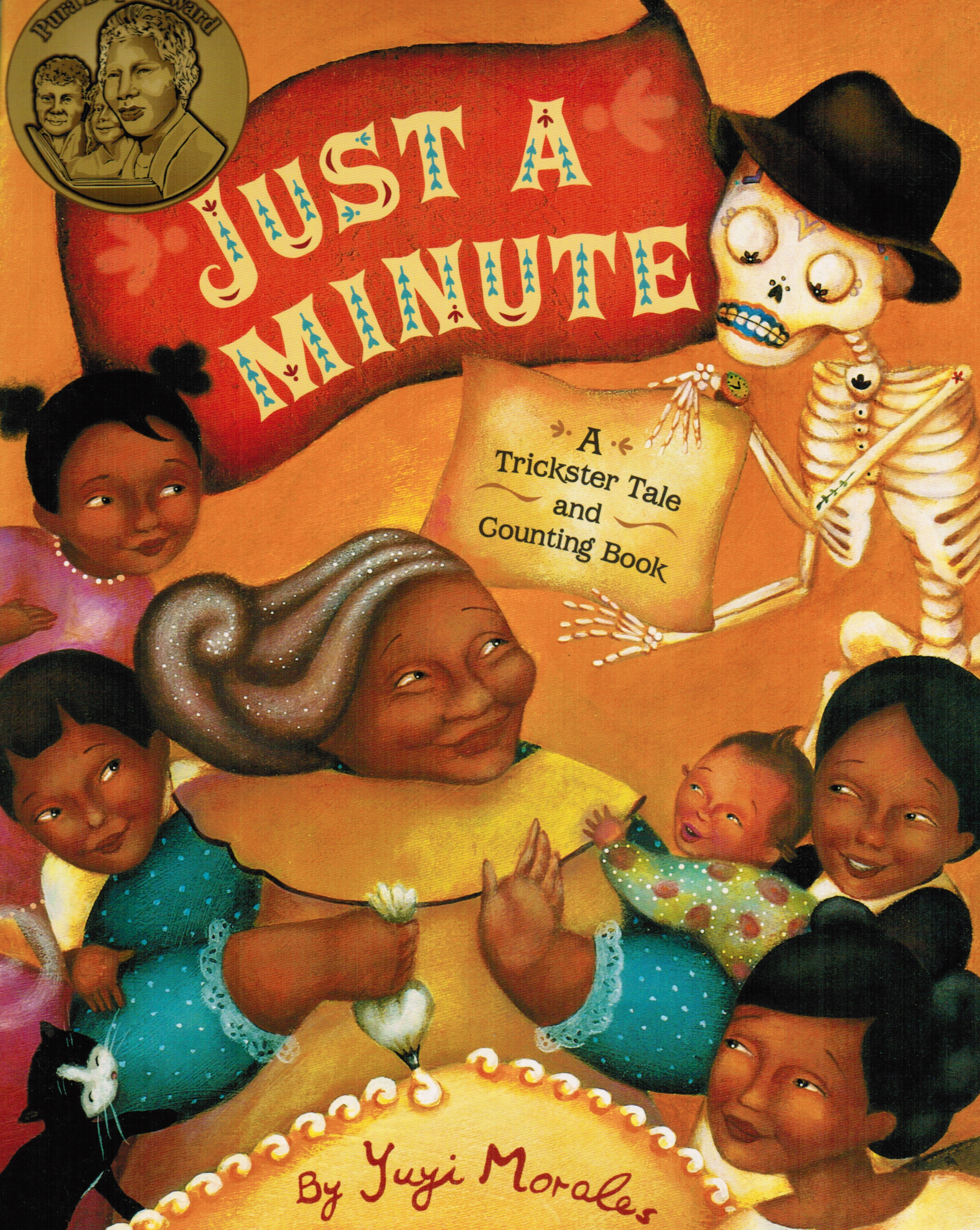Image for Just a Minute: a Trickster Tale and Counting Book