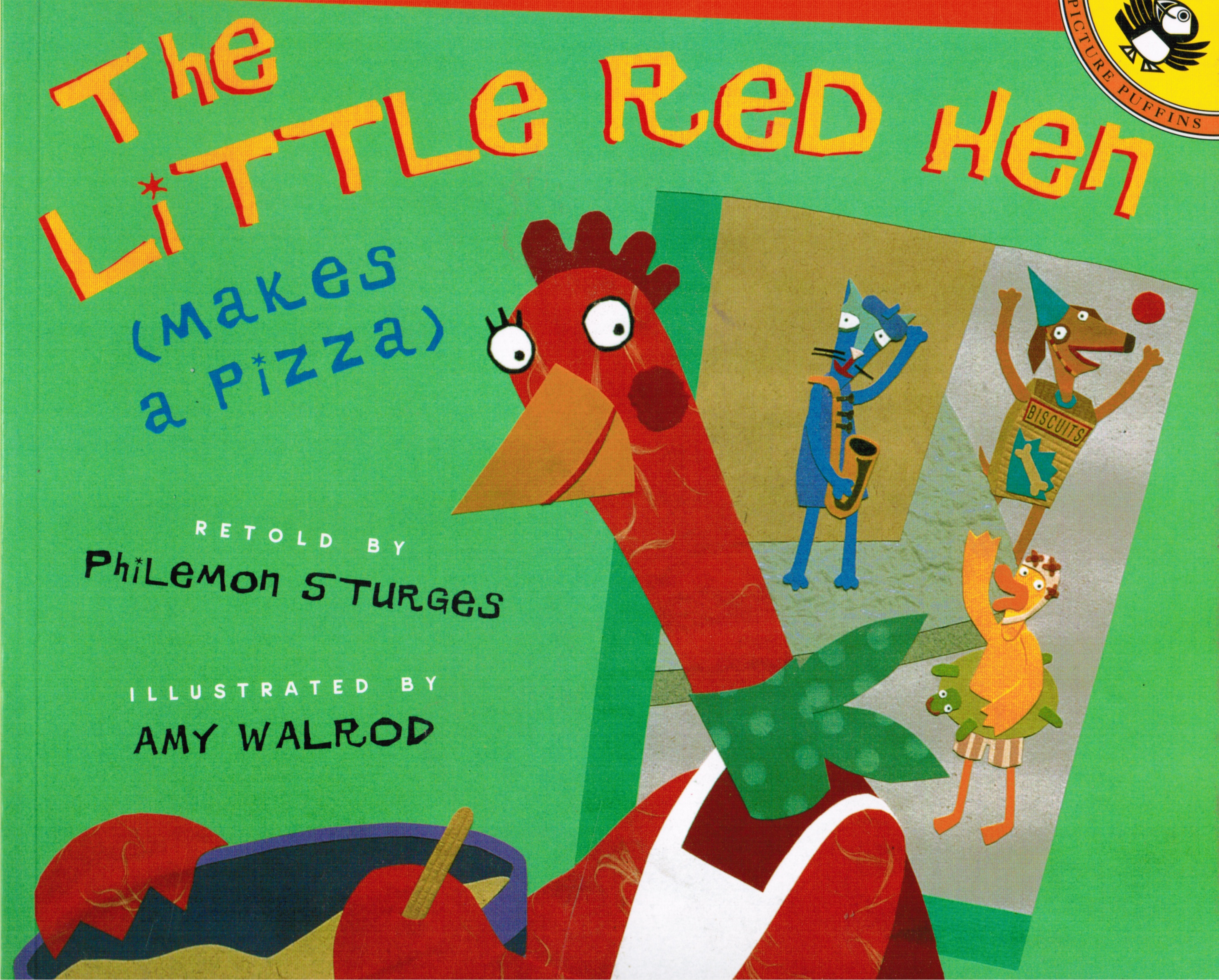 Image for The Little Red Hen Makes Pizza