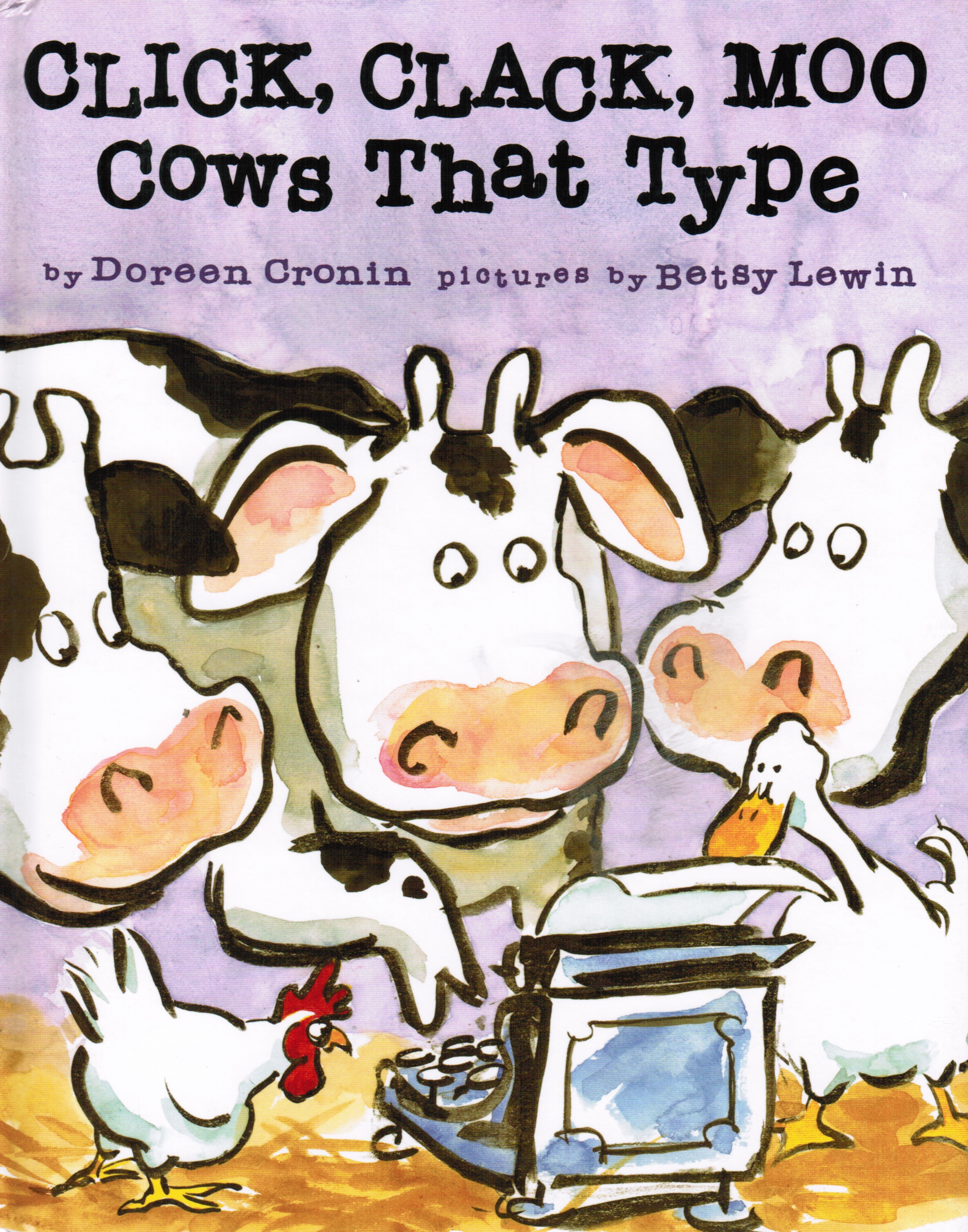 Image for Click, Clack, Moo: Cows That Type