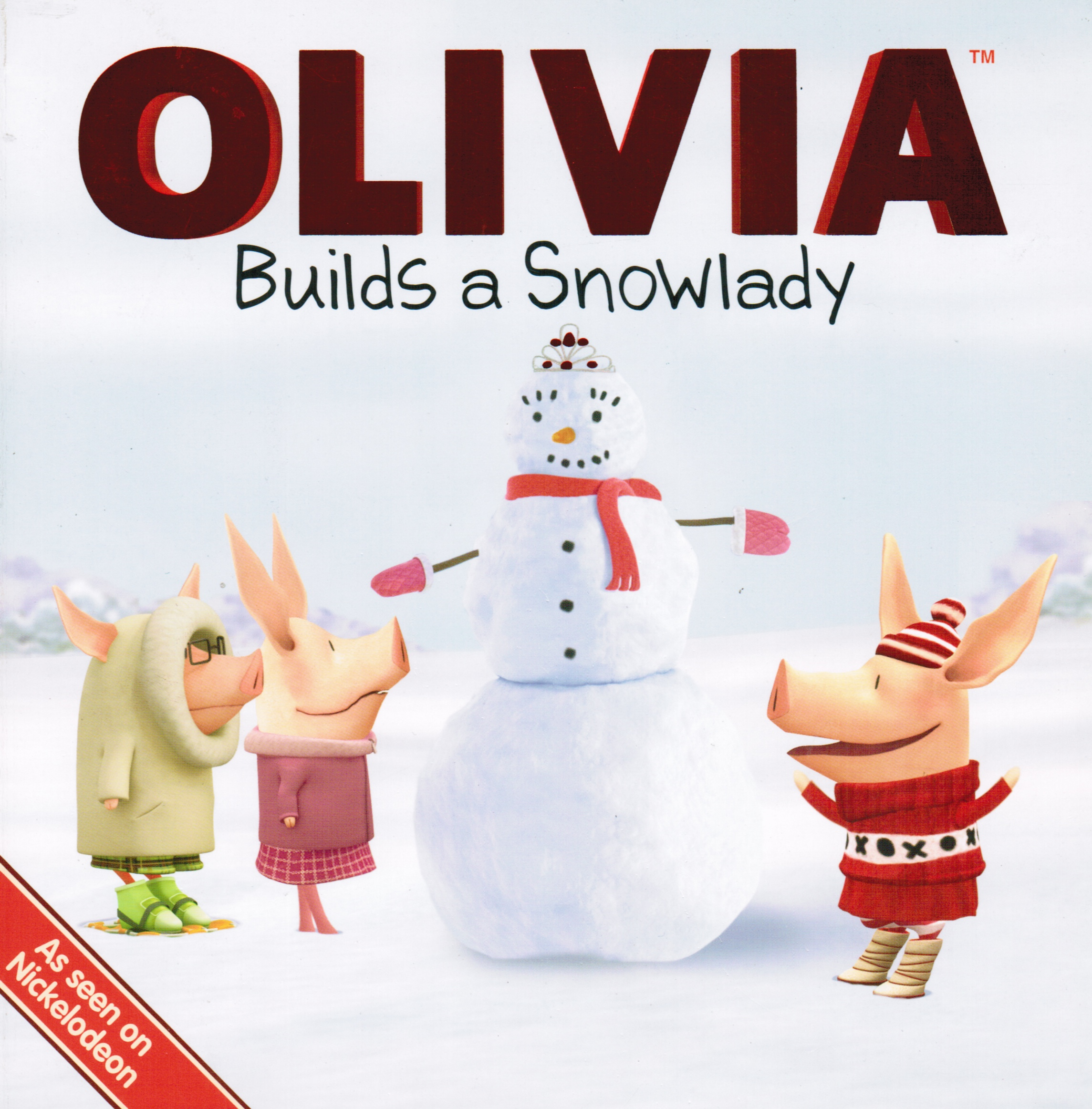 Image for Olivia Builds a Snowlady